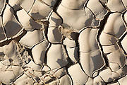 environmental concept, Water shortage and drought Dry cracked mud photographed in the Negev Desert, Israel