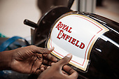 Royal Enfield's factory, Chennai, India.