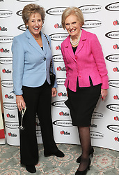 Norma Major and Mary Berry  at the Oldie of the Year Awards in London, Tuesday, 4th February 2014. Picture by Stephen Lock / i-Images