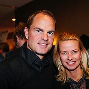 NLD/Volendam/20130208 - Presentatie Helden 17, Frank de Boer en partner Helen van Haren