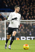 Everton midfielder Kevin Mirallas during the Barclays Premier League match between Chelsea and Everton at Stamford Bridge, London, England on 16 January 2016. Photo by Andy Walter.