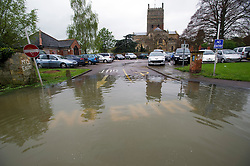 © London News Pictures. 01/05/2012. Tewkesbury, UK. The town centre of  Tewkesbury, Gloucestershire flooded on May 1, 2012. The UK has had its wettest April in over a century, with some areas seeing three times their usual average rainfall, according to figures from the Met Office. Photo credit : Ben Cawthra /LNP