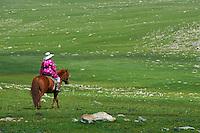 Mongolie, Province de Ovorkhangai, Transhumance des nomades // Mongolia, Ovorkhangai province, Nomadic transhumance