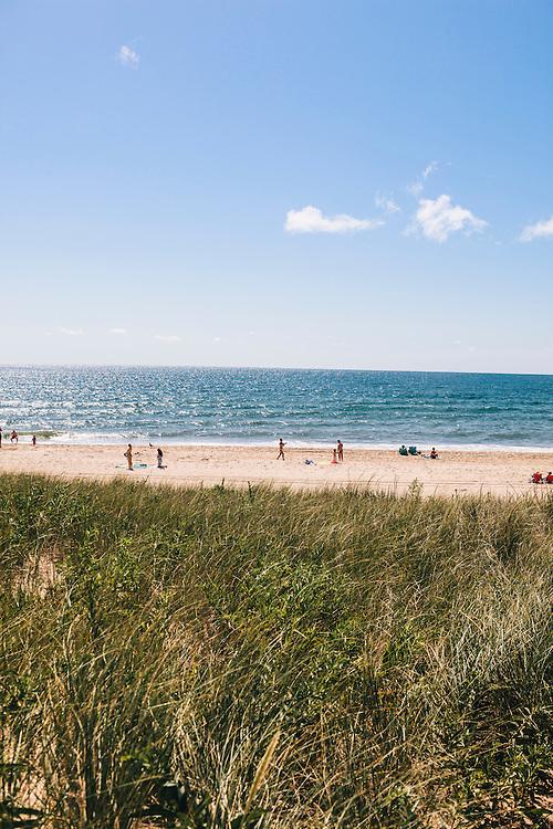 Labor Day Weekend at Kirk Park Beach, Montauk, East Hampton, NY