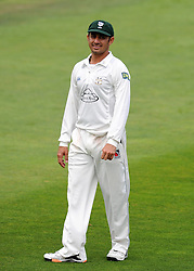 Worcestershire's Saeed Ajmal- Photo mandatory by-line: Harry Trump/JMP - Mobile: 07966 386802 - 21/08/15 - SPORT - CRICKET - LV County Championship Division One - Day One - Somerset v Worcestershire - The County Ground, Taunton, England.