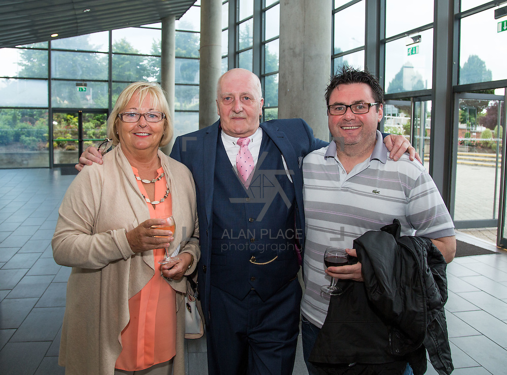 02.08.2016<br /> Canadian Ambassador to Ireland, Kevin Vickers visit to the Millennium Theatre, LIT. Pictured at the event were, Lilly Goggin, LIT, Gerry Meagher, Millennium Theatre LIT and Liam Ryan, LIT. Picture: Alan Place