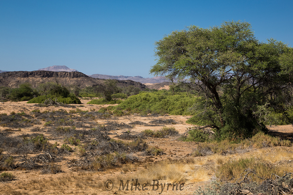 Landscapes in Damaraland, Namibia.