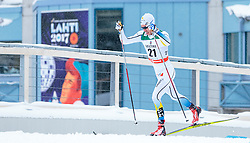 21.02.2016, Salpausselkae Stadion, Lahti, FIN, FIS Weltcup Langlauf, Lahti, Herren Skiathlon, im Bild Marcus Hellner (SWE) // Marcus Hellner of Sweden competes during Mens Skiathlon FIS Cross Country World Cup, Lahti Ski Games at the Salpausselkae Stadium in Lahti, Finland on 2016/02/21. EXPA Pictures © 2016, PhotoCredit: EXPA/ JFK