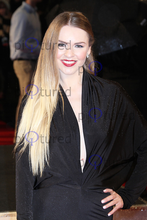 Zoe Salmon, G.I. Joe Retaliation UK Film Premiere, Empire Cinema Leicester Square, London UK, 18 MArch 2013, (Photo by Richard Goldschmidt)