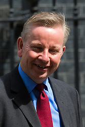 Downing Street, London, June 16th 2015. Justice Secretary Michael Gove leaves 10 Downing Street following the weekly cabinet meeting.