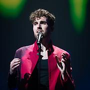 NLD/Amsterdam/20200211 - Uitreiking Edison Pop 2020, Duncan Laurence