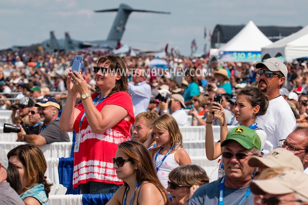 New Windsor, New York - The first day of the New York Air Show at Stewart International Airport was held on Aug. 29, 2015.