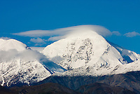 Snowcapped peaks of the Central Alaska Range