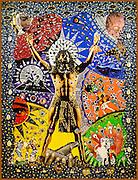 Artwork on display at SOPAC in South Orange, NJ.