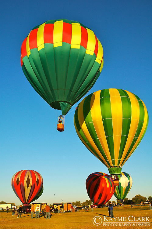 Hot Air Balloons at Prosser Balloon Rally