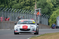 #69 George GRANT Mazda MX-5 Mk3  during BRSCC Mazda MX-5 Super Series  as part of the BRSCC NW Mazda Race Day  at Oulton Park, Little Budworth, Cheshire, United Kingdom. June 16 2018. World Copyright Peter Taylor/PSP. Copy of publication required for printed pictures. http://archive.petertaylor-photographic.co.uk