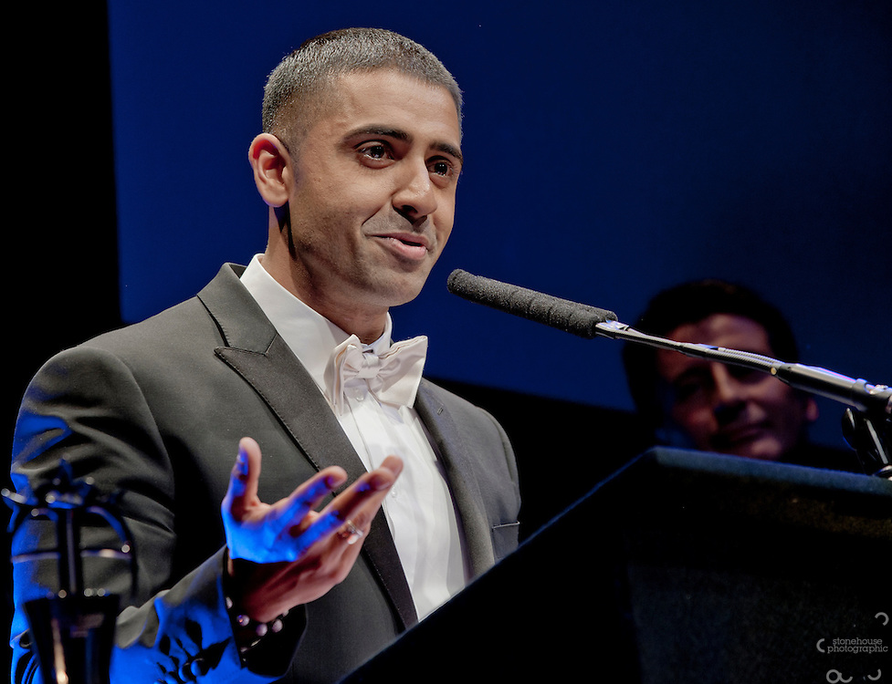 Jay Sean receives the Lebara Outstanding Achievement in Music award at The Asian Awards 2011 held at the Grosvenor House Hotel, London...The Asian Awards, which have been set up to celebrate the highest achievement from across the international Asian community. Awards are open to individuals born in or with direct family origin from India, Pakistan, Sri Lanka or Bangladesh.  ..The Asian Awards recognise and reward exemplary achievement across 11 categories that include business, philanthropy, entertainment, culture and sport. Nominees were selected by an independent judging panel consisting of key business people, cultural leaders and eminent political figures, chaired by Baroness Verma of Leicester.