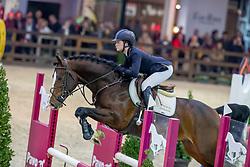 Lazzarini Alice, ITA, Cascalido<br /> Pavo Hengstencompetitie<br /> Azelhof Lier 2020<br /> © Hippo Foto - Dirk Caremans