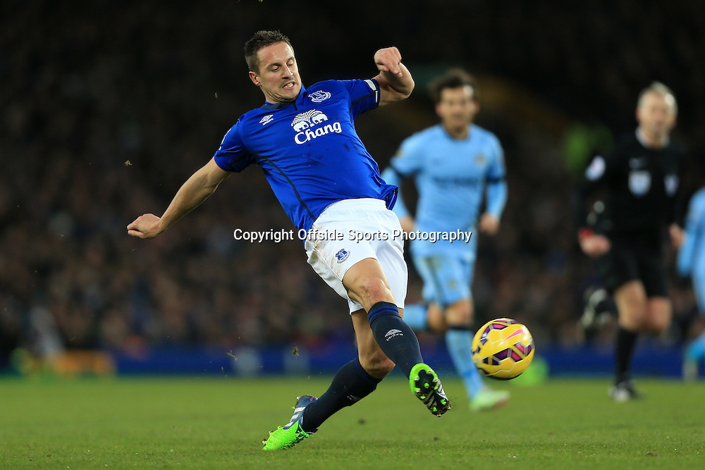 10th January 2015 - Barclays Premier League - Everton v Manchester City - Phil Jagielka of Everton - Photo: Simon Stacpoole / Offside.
