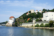 Veste Oberhaus Fortress, Passau, Lower Bavaria, Germany