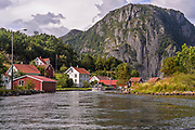 Scenery from Eie on the island of Hidra, Vest-Agder, south-western Norway