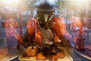 Chinatown. Crispy ducks.