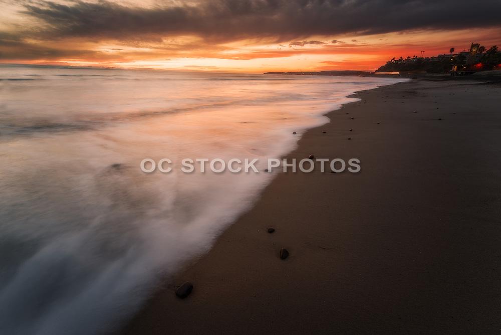 San Clemente Beach at Dusk
