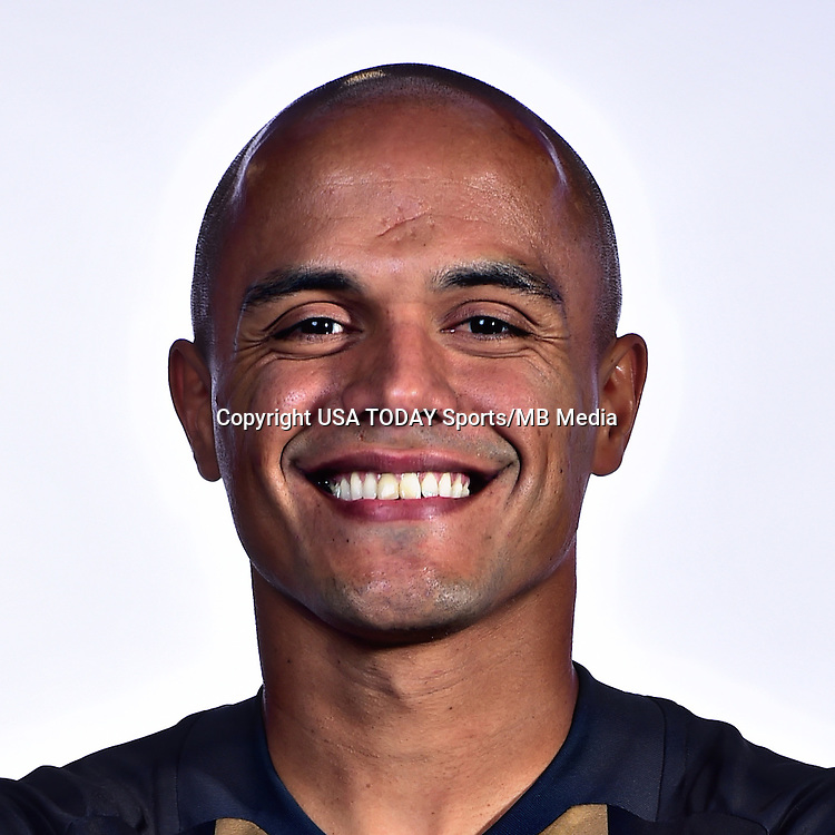 Feb 25, 2016; USA; Philadelphia Union player Fabinho poses for a photo. Mandatory Credit: USA TODAY Sports