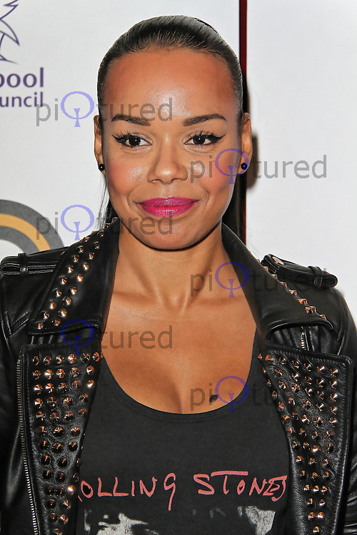 LONDON - SEPTEMBER 17: Phreeda Sharp attended the Nominations Launch of the MOBO Awards at Floridita London, UK. September 17, 2012. (Photo by Richard Goldschmidt)