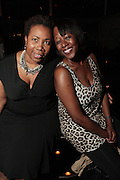 28 April 2011- New York,  NY-  Margo Lewis and Yvette Hayward at The Sparkling Celebration for the Birthday of Harriette Cole held at the Galapagos Art Space on April 27, 2011 in Brooklyn, NY Photo Credit: Terrence Jennings