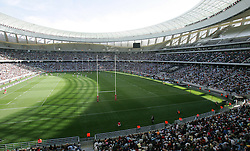 GV during the Festival of Rugby match between The Boland Cavaliers and The Stormers held at The Cape Town Stadium (formerly Green Point Stadium) in Cape Town, South Africa on 6 February 2010.  This is the first match/event to be held at the new stadium which was purpose built to host matches during the FIFA World Cup South Africa 2010.Photo by: Ron Gaunt/SPORTZPICS