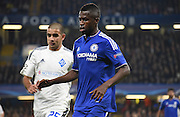 Ramires in action during the Champions League group stage match between Chelsea and Dynamo Kiev at Stamford Bridge, London, England on 4 November 2015. Photo by Michael Hulf.