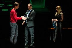 during ceremony awards at TNS Gala event in Siti theatre in Ljubljana on 28. November, 2019, Slovenia. Photo Grega Valancic / Sportida