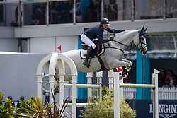 Kuipers Doron, NED, Charley<br /> Jumping International de La Baule 2019<br /> &copy; Dirk Caremans<br /> Kuipers Doron, NED, Charley