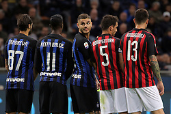 October 21, 2018 - Milan, Milan, Italy - Mauro Icardi #9 of FC Internazionale Milano during the serie A match between FC Internazionale and AC Milan at Stadio Giuseppe Meazza on October 21, 2018 in Milan, Italy. (Credit Image: © Giuseppe Cottini/NurPhoto via ZUMA Press)