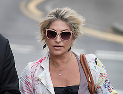 © Licensed to London News Pictures. 17/05/2016. London, UK.  Matilde Conejero arrives at Uxbridge Magistrates Court. Ms Conejero, who is the estranged wife of chef Marco Pierre White, is charged with two counts of common assault against her sons. She pleaded not guilty to both counts at an earlier hearing . Photo credit: Peter Macdiarmid/LNP