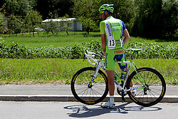 CARUSO Damiano of Liquigas during 1st Stage (164 km) at 19th Tour de Slovenie 2012, on June 14, 2012, in Novo Mesto, Slovenia. (Photo by Urban Urbanc / Sportida)