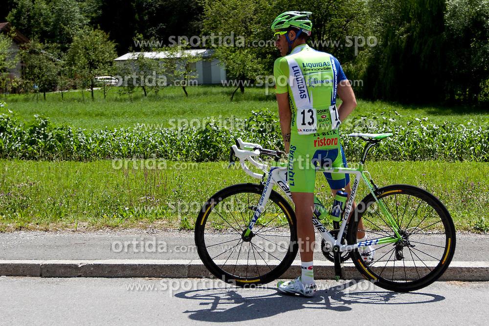 CARUSO Damiano of Liquigas during 1st Stage (164 km) at 19th Tour de Slovenie 2012, on June 14, 2012, in Novo Mesto, Slovenia. (Photo by Urban Urbanc / Sportida)