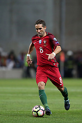 August 31, 2017 - Porto, Portugal - Portugal's midfielder Joao Moutinho in action during the 2018 FIFA World Cup qualifying football match between Portugal and Faroe Islands at the Bessa XXI stadium in Porto, Portugal on August 31, 2017. (Credit Image: © Pedro Fiuza/NurPhoto via ZUMA Press)
