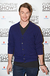 © Licensed to London News Pictures.  07/12/2012. BIRMINGHAM, UK. Designer Mark Fast (pictured) is seen during the opening photo call for the Clothes Show Live event being held in the NEC, Birmingham. The show opens today and runs until Tuesday. Photo credit :  Cliff Hide/LNP