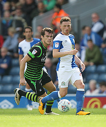 Corry Evans of Blackburn Rovers in action - Mandatory by-line: Jack Phillips/JMP - 12/08/2017 - FOOTBALL - Ewood Park - Blackburn, England - Blackburn Rovers v Doncaster Rovers - English Football League One
