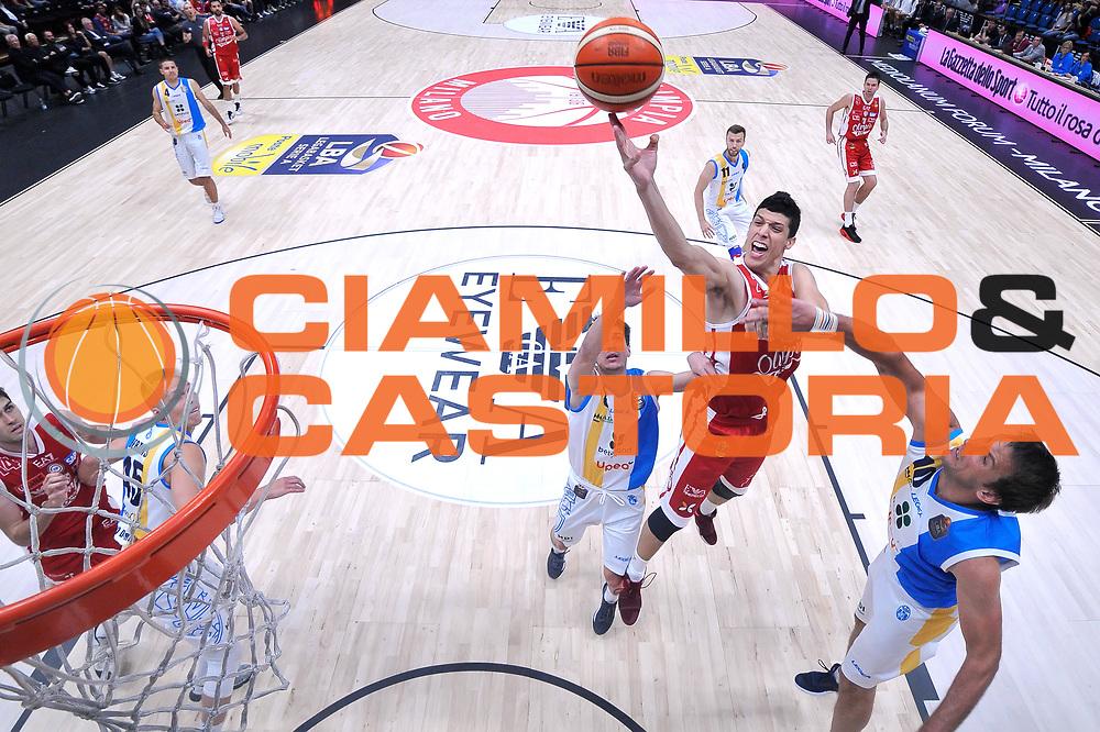 Fontecchio Simone<br /> Olimpia EA7 Emporio Armani Milano - Vanoli Cremona<br /> Lega Basket Serie A 2016/2017<br /> PlayOff semifinale gara 2<br /> Milano 14/05/2017<br /> Foto Ciamillo-Castoria / I.Mancini