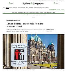 Berliner Morgenpost; Berlin Cathedral