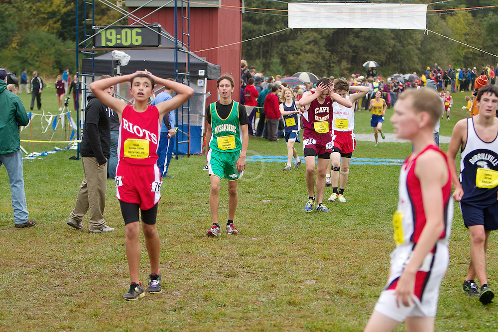 Festival of Champions High School Cross Country meet, Troy Cloutier, Massabesic