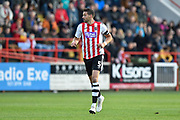 Aaron Martin (5) of Exeter City during the EFL Sky Bet League 2 match between Exeter City and Cheltenham Town at St James' Park, Exeter, England on 16 November 2019.