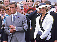"""PRINCESS DIANA AND PRINCE CHARLES.attending the Melbourne Cup, Flemington, Melbourne_05/11/1985.27 years later almost to the day Prince Charles returns to Melbourne Cup with Camilla, Duchess of Cornwall..Mandatory credit photo: ©Francis Dias/NEWSPIX INTERNATIONAL..(Failure to credit will incur a surcharge of 100% of reproduction fees)..                **ALL FEES PAYABLE TO: """"NEWSPIX INTERNATIONAL""""**..IMMEDIATE CONFIRMATION OF USAGE REQUIRED:.DiasImages, 31a Chinnery Hill, Bishop's Stortford, ENGLAND CM23 3PS.Tel:+441279 324672  ; Fax: +441279656877.Mobile:  07775681153.e-mail: info@newspixinternational.co.uk"""