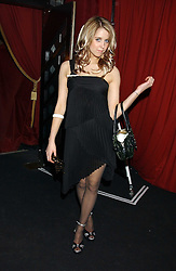 PEACHES GELDOF at a party to celebrate the first issue of British Harper's Bazaar held at Cirque, 10-14 Cranbourne Street, London WC2 on 16th February 2006.<br /><br />NON EXCLUSIVE - WORLD RIGHTS