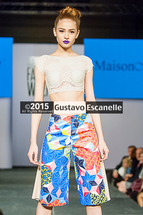 NEW ORLEANS FASHION WEEK 2015: Designer Maison Monet showcasing her design at the New Orleans Fashion Week at the New Orleans Board of Trade on Thursday March 26th, 2015. ©2015, Gustavo Escanelle, All Rights Reserved. ©2015, MOI MAGAZINE, All Rights Reserved.