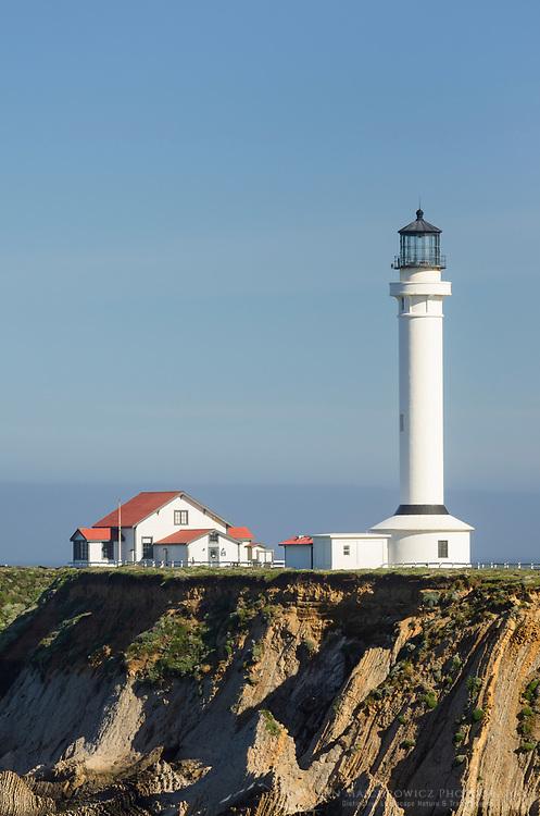 Point Arena Lighthouse on the Mendocino Coast California