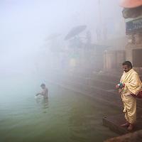 early morning in Varanasi, India